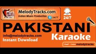 Sham hui jane de | Pakistani Karaoke | Noor Jahan | Rajab Ali | MelodyTracks