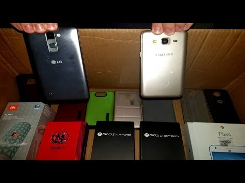 SCORED PHONES HUGE PHONE STORE HAUL Samsung Android Display JACKPOT