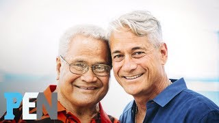 How Olympic Diver Greg Louganis Found His Birth Father After Decades | PEN | Entertainment Weekly
