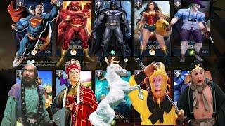 Liên Quân | Lần Đầu Tiên Khi Team Siêu Nhân DC Gặp Team Đường Tăng - Cái Kết Đánh Nhau Sml