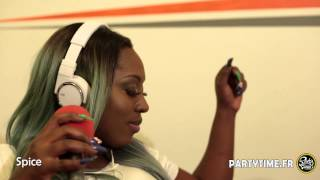 Spice Freestyle at party Time Reggae radio show - OCT 2015