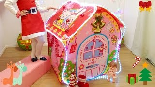 メルちゃんお家 クリスマスの飾りつけ / Mell-chan Dollhouse Christmas Decorations
