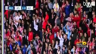 اهداف مباراة اتلتيكو مدريد و أستانا 4 0 كاملة 2015 10 21 عيسى الحربين HD