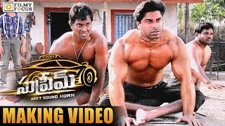 Supreme Climax Fight Scene Making Video || Sai Dharam Tej, Raashi Khanna, Anil Ravipudi
