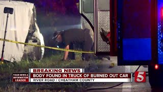 Body Found In Burned-Out Car On SR 251 In Cheatham County