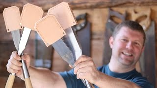 INSANELY AWESOME $900 TIMBER FRAMING CHISELS