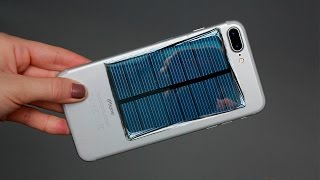 HOW TO MAKE A FREE ENERGY EMERGENCY MOBILE PHONE CHARGER - Solar Generator / Tutorials