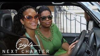 Rihanna Takes Oprah on a Tour of Her Childhood Home   Oprah