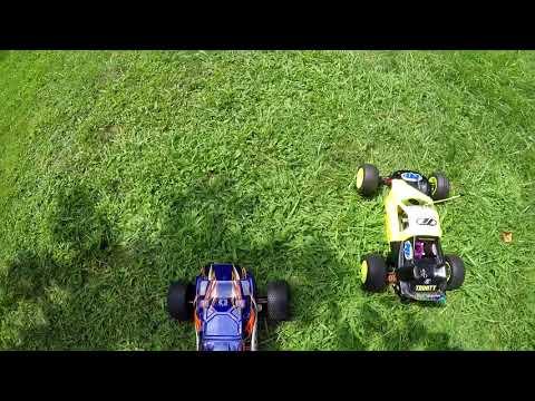 Xxx Mp4 Losi XXX NT Vs Traxxas Rustler DRAG Racing NITRO Vs ELECTRIC 3gp Sex