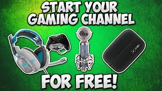 Start A YouTube Gaming Channel FOR FREE!