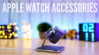 ACCESSORIES I use with my Apple Watch Series 2
