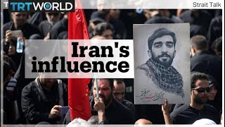 Iran builds up its