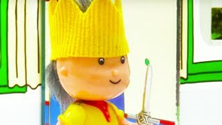 Funny Animated cartoons Kids | King Caillou | WATCH ONLINE | Caillou Stop Motion