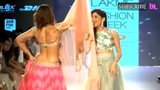 Ileana D Cruz On Ramp At Lakme Fashion Week Part 1