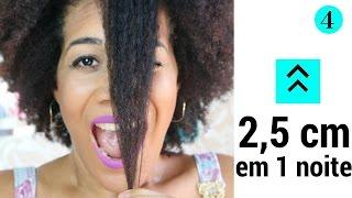 CRESCIMENTO CAPILAR: 2,5 CM DORMINDO| Rose Hapuque