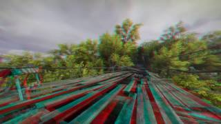 3D Jumpscare on Bridge 3D ANAGLYPH 3D VIDEO RED/CYAN HD 1080p