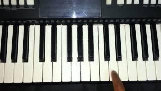 Jeena jeena (atif aslam) - Badlapur 2015 piano tutorial