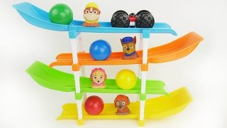 Best Learning Video For Preschool Kids with Toy Cars, Gumball Candy, and Paw Patrol Surprises