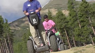 Off-Road Segway tours at Breck