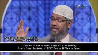 Islam Sahaja Yang BERANI Lawan Kristian Dr Zakir Naik Malay Subtitle