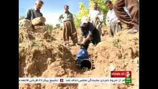 Iran Water piping for agricultural fields لوله كشي آب براي زمينهاي كشاورزي ايران