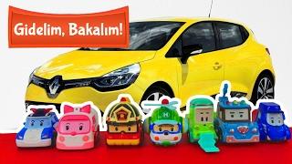 Eğitici araba oyunları - Robocar Poli kurtarma ekibi. Gidelim, bakalım -oto yıkama istasyonu!