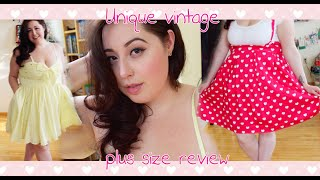 Unique Vintage Plus size review (3x, 4x)