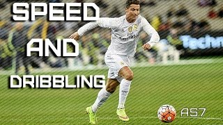Cristiano Ronaldo  ► Speed and Dribbling | 2015/16 | HD