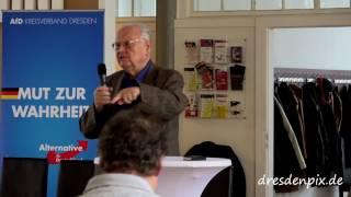 Dr Fritz Michalczyk Afd Kandidatenrede Wahlkreis DD/BZ1 zur BTW 2017
