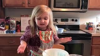 Audrey Nethery's Kitchen!! Making a glaze!!