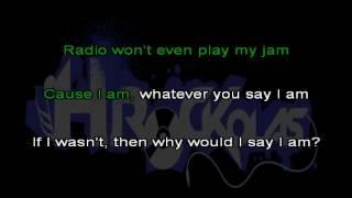 Eminem - The way i am (HKaraoke)