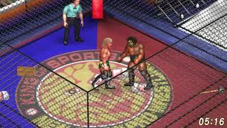 Fire Pro Wrestling World: Kenny Omega vs. Kongo Kong Cage Match