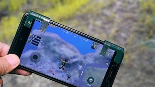 How to make L1 R1 triggers for pubg mobile