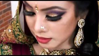 ( Shaju's Make over ) Muslim Bridal Makeup - Bangladeshi Bride