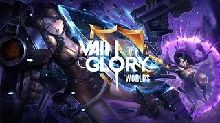 Team SoloMid (TSM) Vs. Phoenix Armada Full Game 4: Vainglory Worlds 2016 Championships FINALS
