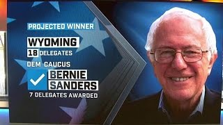 Bernie Sanders wins Wyoming but rigged rules give Clinton more Delegates