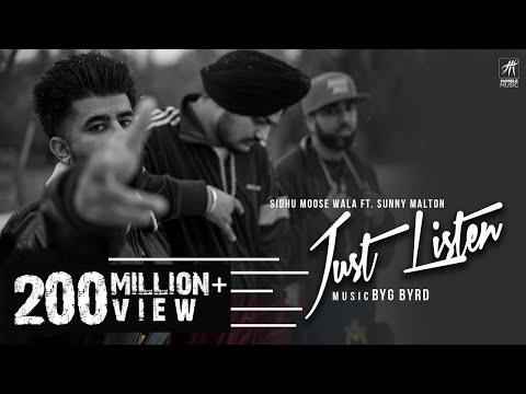 Xxx Mp4 Just Listen Official Music Video Sidhu Moose Wala Ft Sunny Malton BYG BYRD Humble Music 3gp Sex