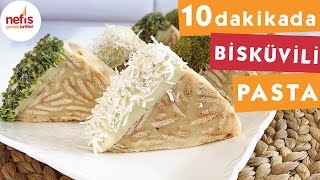 Muzlu Bisküvili Pasta - Pasta Tarifleri - Nefis Yemek Tarifleri