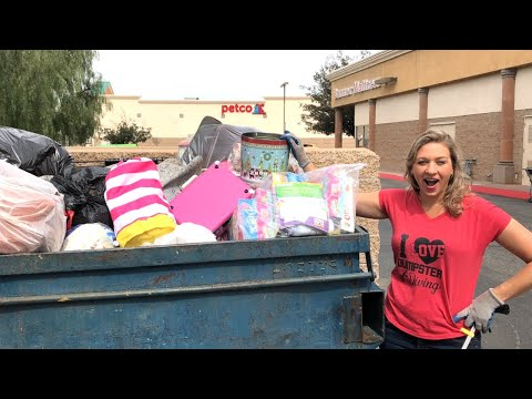 DUMPSTER DIVING DID SOMEONE THROW AWAY THEIR HOUSE