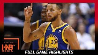 Golden State Warriors vs Memphis Grizzlies Full Game Highlights  / Week 1 / 2017 NBA Season