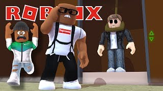 FINDING GAVEN IN THE NORMAL ELEVATOR IN ROBLOX