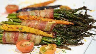 Bacon Wrapped Asparagus Recipe - Heghineh Cooking Show