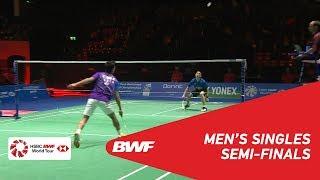 MS | Kantaphon WANGCHAROEN (THA) vs Sameer VERMA (IND) [2] | BWF 2018