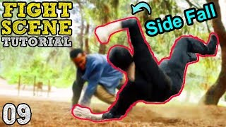 How to do a STUNT FALL (Judo Side Fall) taught by stuntman Rustic B