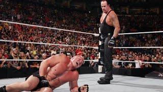 The Undertaker aparece en Battleground 2015 y masacra a Brock Lesnar