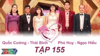 VỢ CHỒNG SON - Tập 155 | Quốc Cường - Thái Bình | Phú Huy - Ngọc Hiếu | 31/07/2016