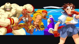 The Street Fighters Openings (SF1 - SFIII:3rd Strike)