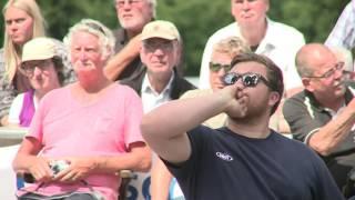 41. Deutsche Pétanque Meisterschaft Triplette 2017 in Schüttorf Finale