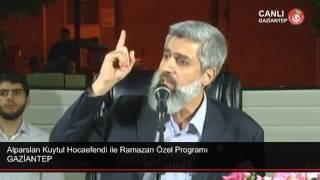 Alparslan Kuytul Hocaefendi'nin İftar Programı Canlı Yayında İptal Edildi