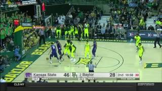 Kansas State at Baylor | 2016-17 Big 12 Men